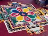 02. - 06.09.2019 Tibetische Mönche streuen ein Sandmandala im DrachenZentrum